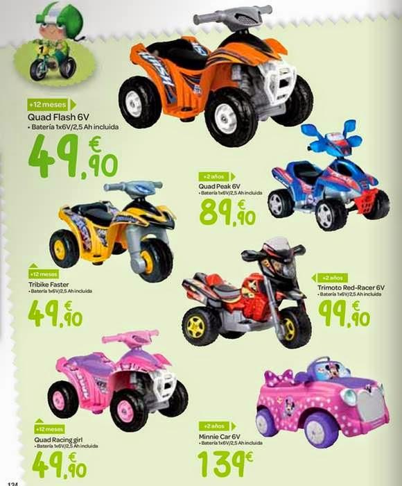 coches a bateria navidad 2014 carrefour