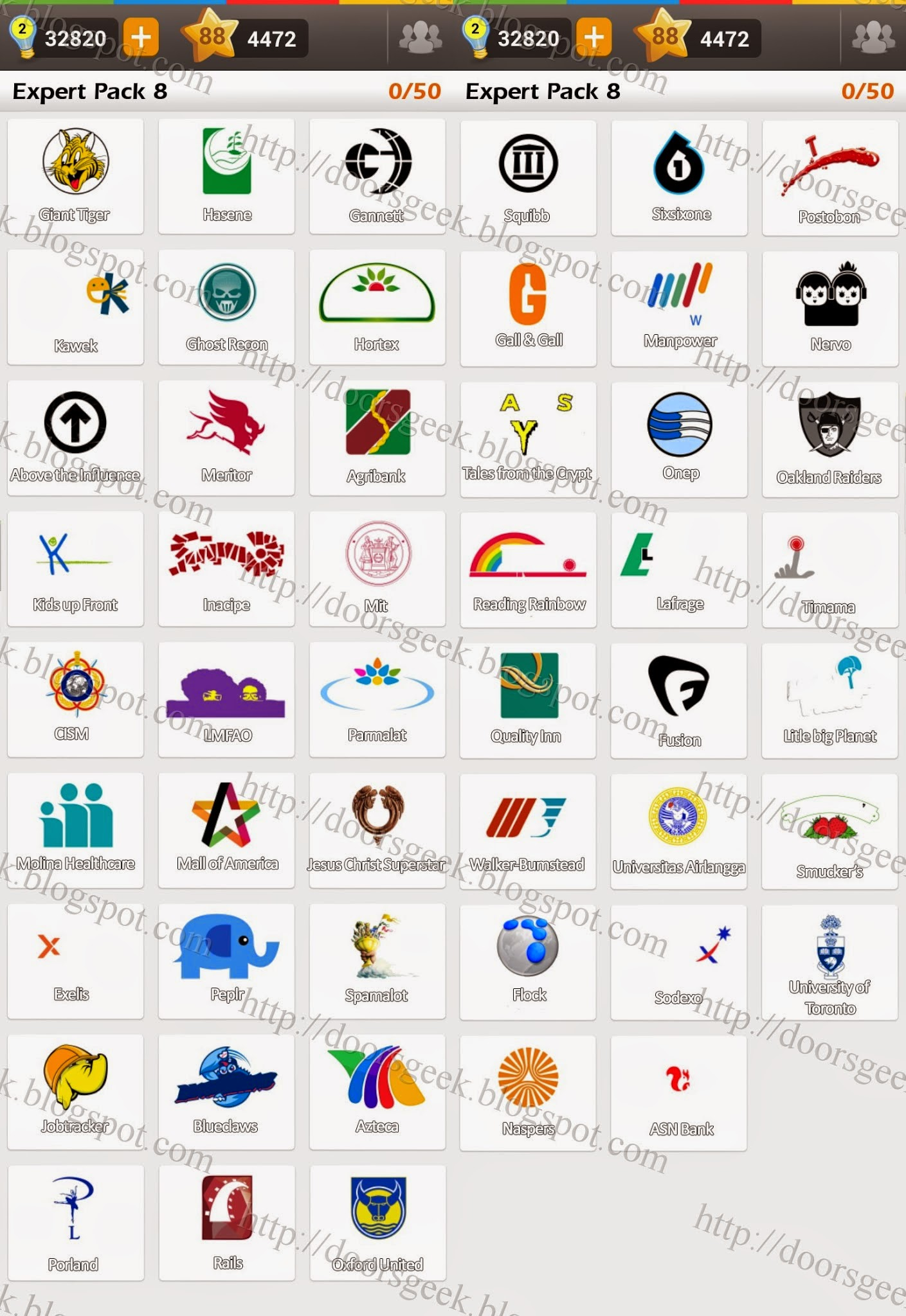 Logo game guess the brand bonus cars chainimage - Answers In Expert Pack 8 Are