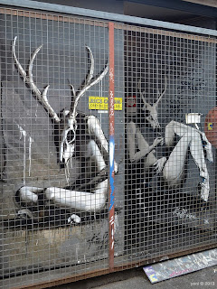 caged deer