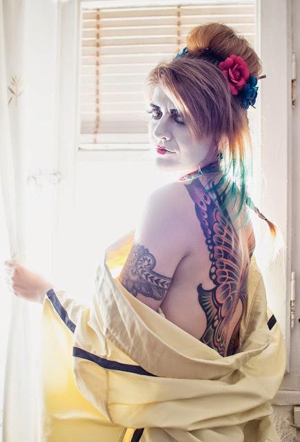Sesión Fotográfica Geisha Punk III