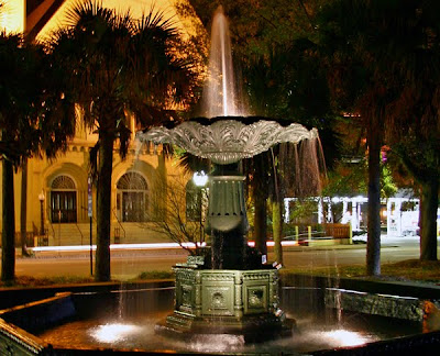 Charleston fountain photos