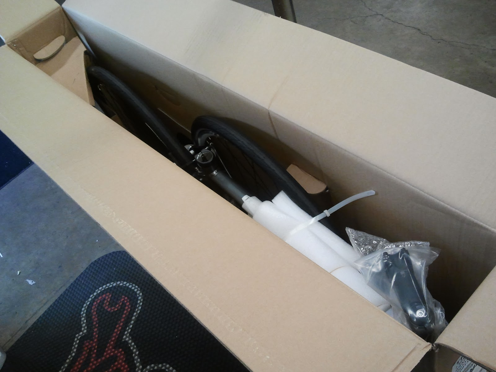 Bike Parts Unboxing Next open the bike box and