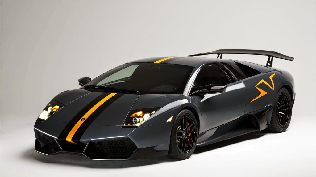 Black Lamborghini HD Wallpaper
