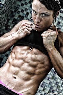Sara Butler abs