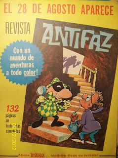 """Publicidades en revista """"ANTEOJITO"""""""