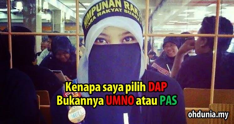Pengakuan Melati Rahim, Gadis Berpurdah Yang Menyertai Parti DAP