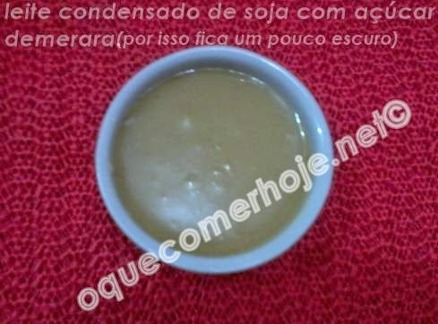 Receita leite condensado de soja caseiro como fazer