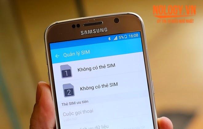Samsung Galaxy S6 2 Sim xách tay