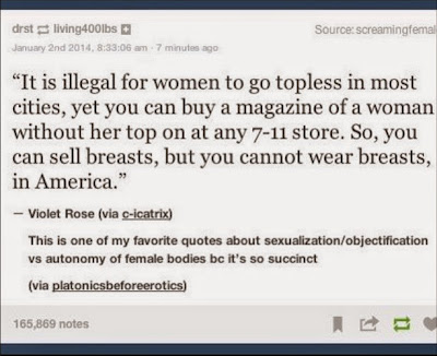 Free the Nipple, breasts, equality