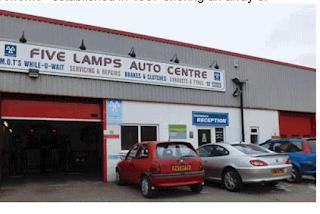 FIVE LAMPS AUTO Centre premises photo
