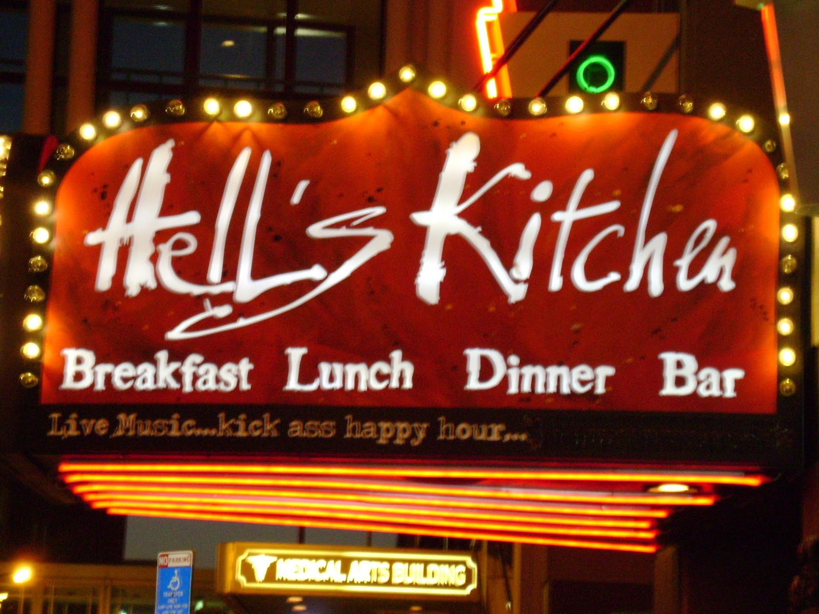 TRAX Fashion Magazine: Hell39;s Kitchen Restaurant Review