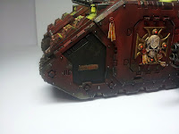 LAND RAIDER BLOOD ANGELS - WARHAMMER 40000 12