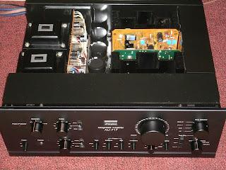 Vintage Hi Fi Audio Restorations Sansui Au 717 Integrated