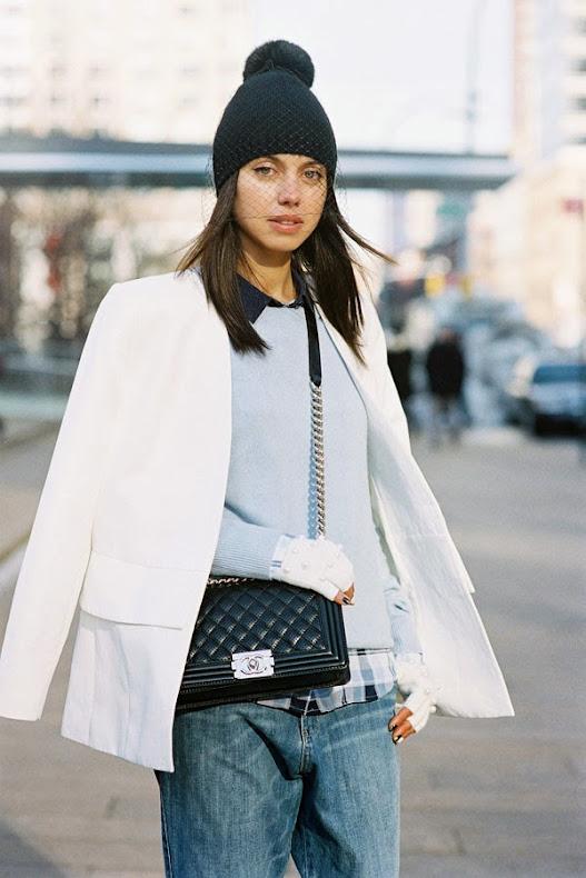 Vanessa Jackman: New York Fashion Week AW 2014.Kelly