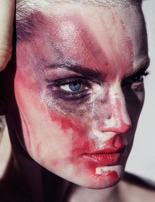 Artistic, War Paint On A Model