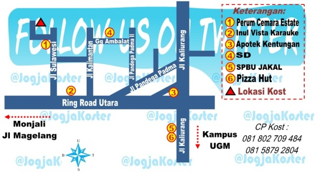 kost S2 S3 UGM fi1108ab