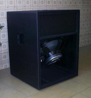 projeto e passo a passo de montagem de caixa acústica sub T-18