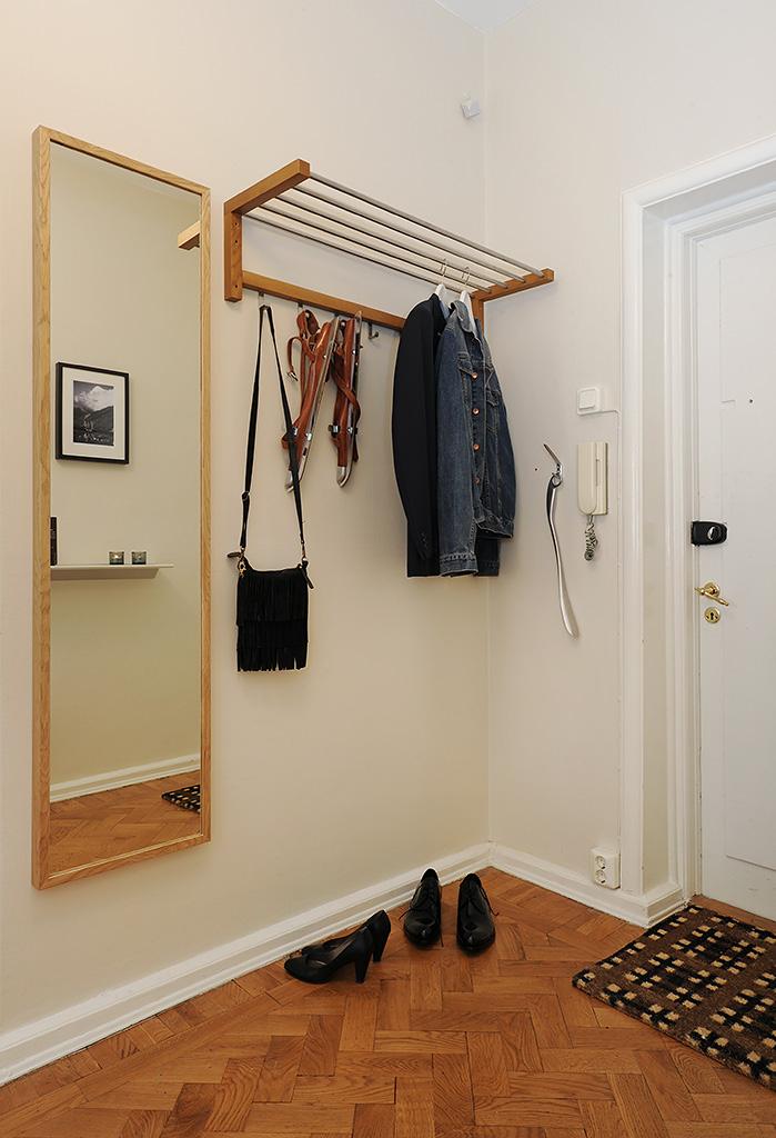 Foyer Ideas For Small Apartments : Apartamento sueco con sopresa boho deco chic