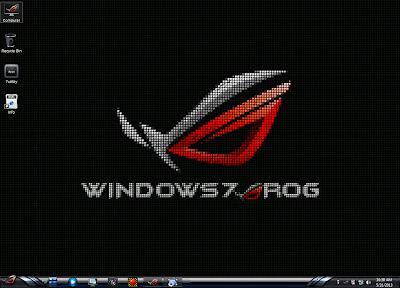 Windows 7 ROG RAMPAGE 64-BIT GAMING EDITION