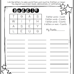 Word Work Ideas {with a freebie!} - Sunny Days in Second Grade