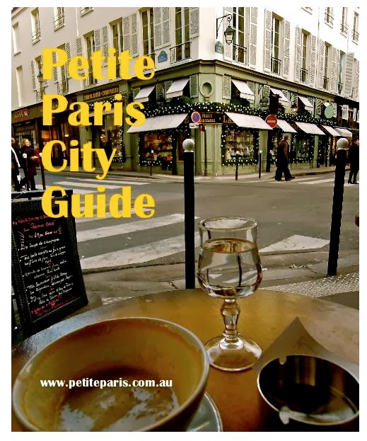 Get the - PETITE PARIS City Guide EBOOK  -  250 pages of Paris secret tips.  ONLY 4.99!