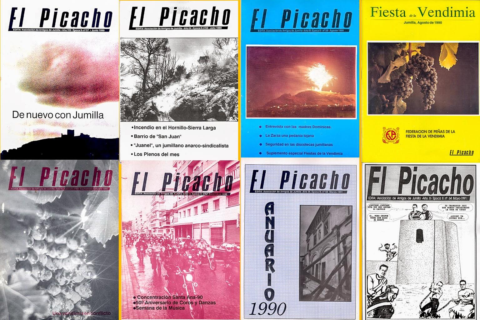 Portadas en El Picacho de Plácido Guardiola