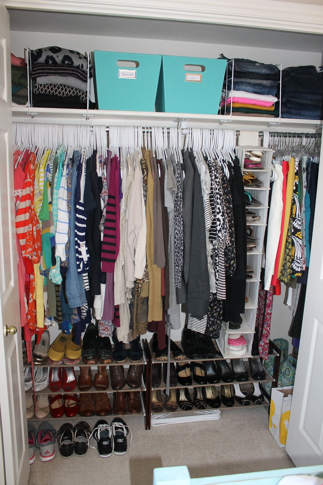Pretty In Place Day 6 My Closet Makeover