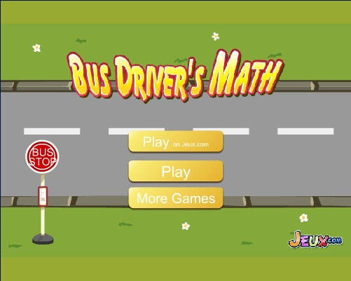 Bus Driver's Math-Cool math games online
