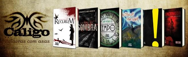 Livros de Ficção da Caligo Editora
