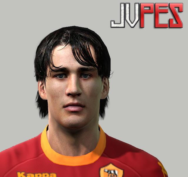 Face de Bojan Krkić Atacante Espanhol de 20 anos, Atualmente joga na Roma, ex-Barcelona para PES 2011 Download, Baixar Face de Bojan Krkić (Roma) para PES 2011