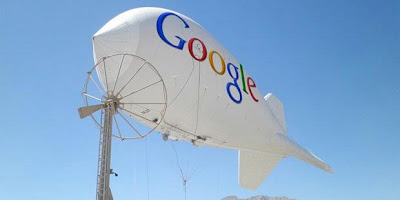 Sebar Internet, Google Terbangkan Balon Wi-Fi, google balloon zeppelin