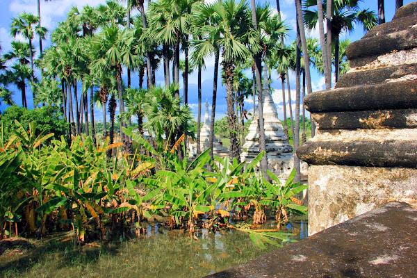 Inwa restos de la antigua capital de Myanmar