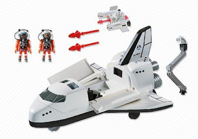 JUGUETES - PLAYMOBIL City Action | Espacio  Transbordador Espacial | Space Shuttle  Producto Oficial 2015 | Edad: +6 años  Comprar en Amazon