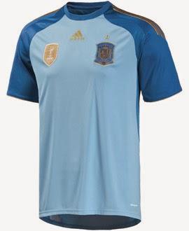 camiseta portero selección española de fútbol mundial 2014