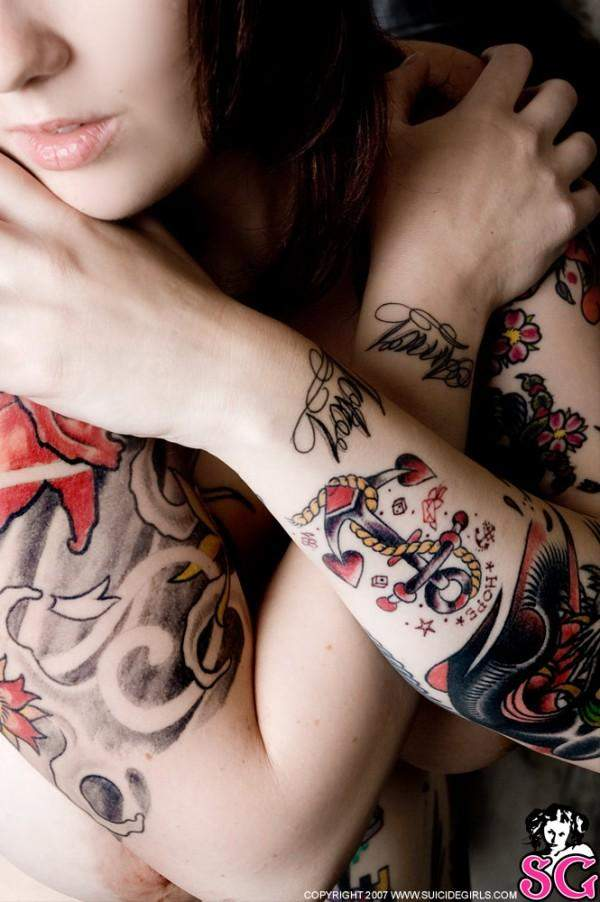 the best tattoo of suicide girls photo style tattoo