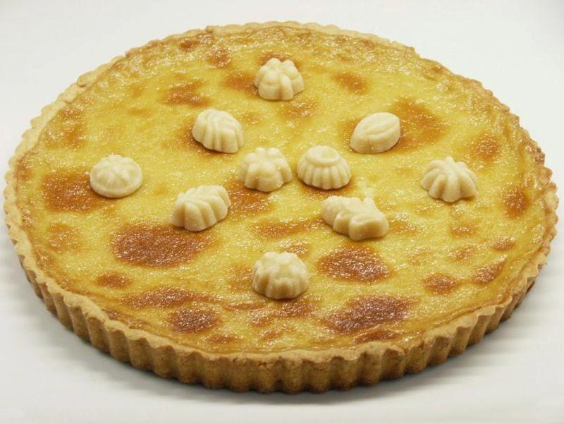 Nutmeg Maple Cream Tart