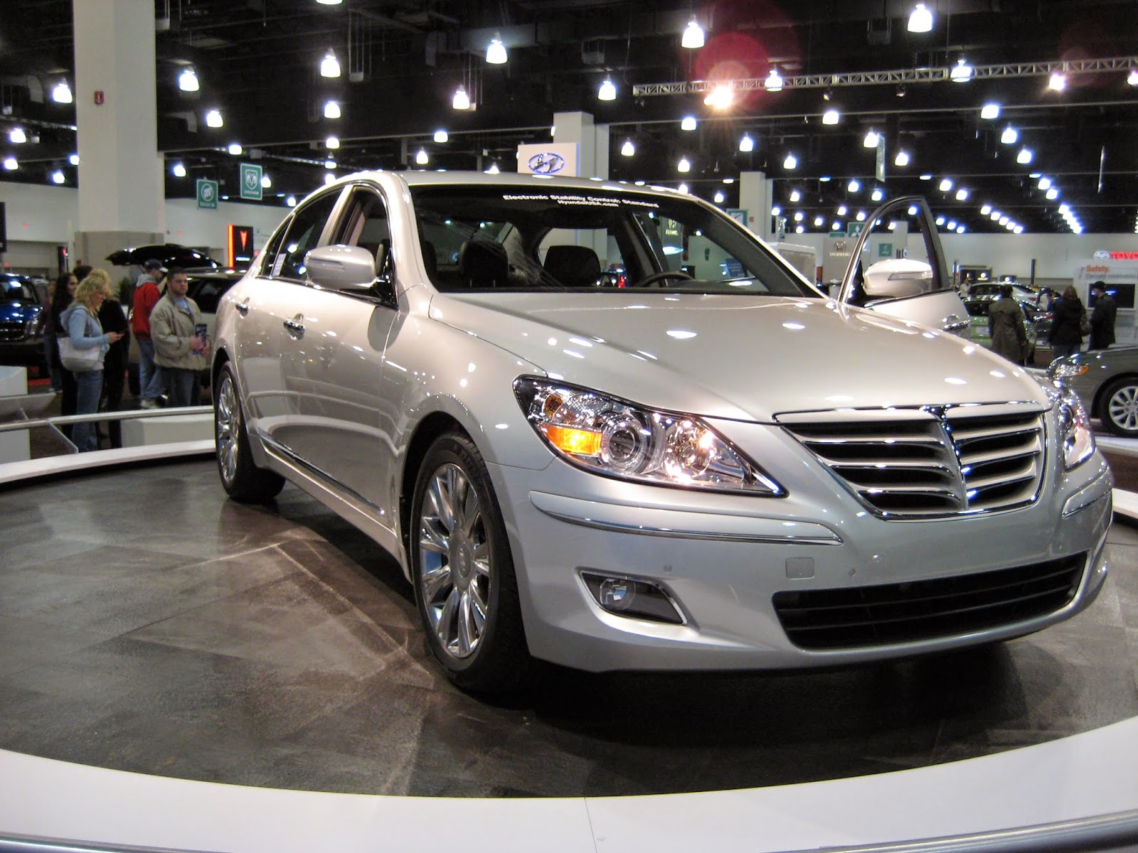 The Hyundai Genesis, named the 2009 North American Car of the Year.