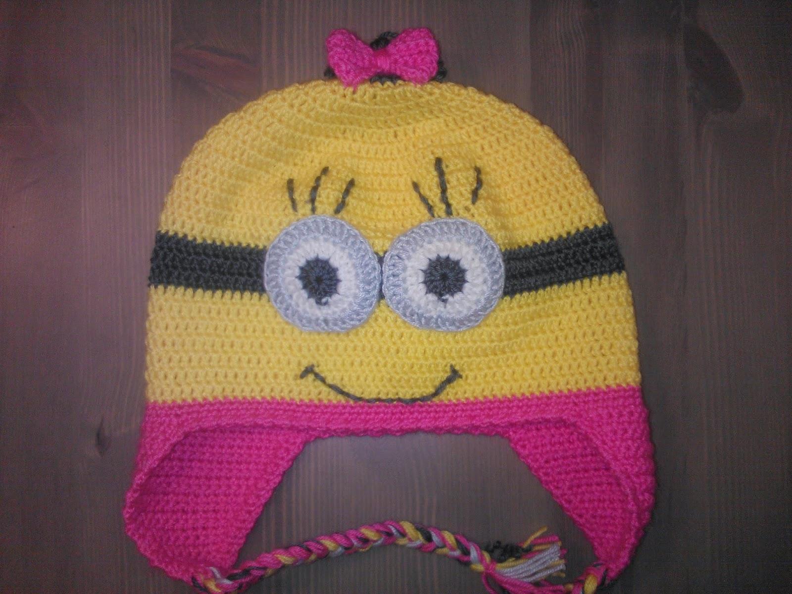 Детская шапка крючком для девочки