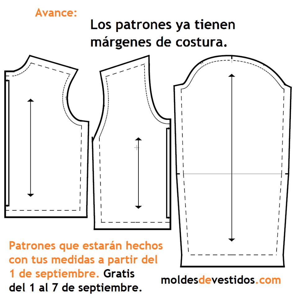 Anilegra moda para muñecas: Moldes de costura en PDF hechos con tus ...