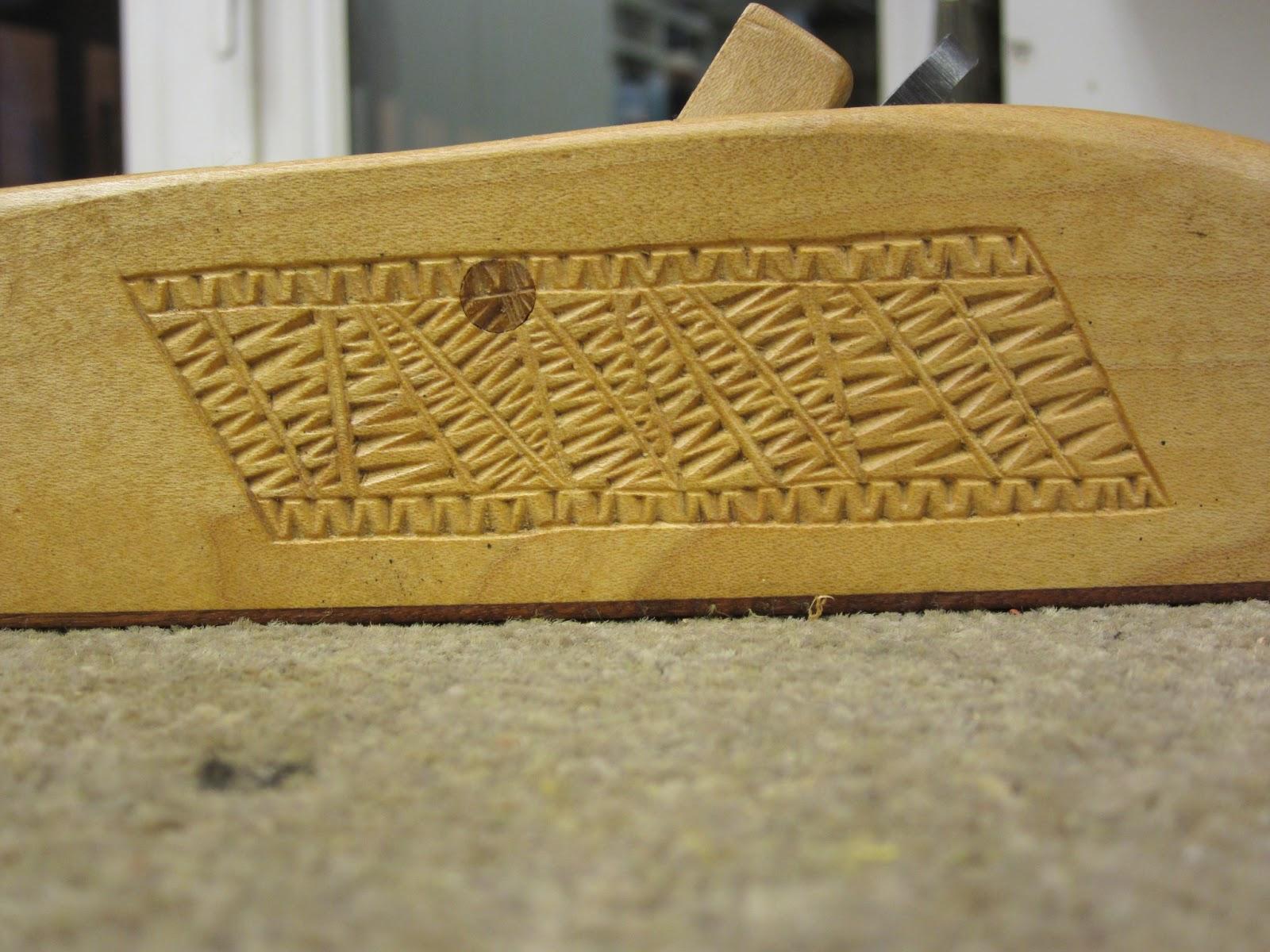 David barron furniture chip carving