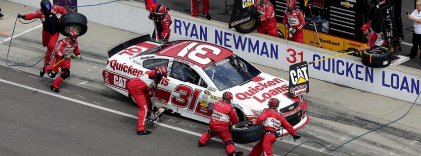 Ryan Newman Pit-Stop