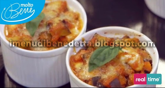 Parmigiana in cocotte di Benedetta Parodi