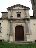 Façana neoclàssica de Sant Andreu de Gurb