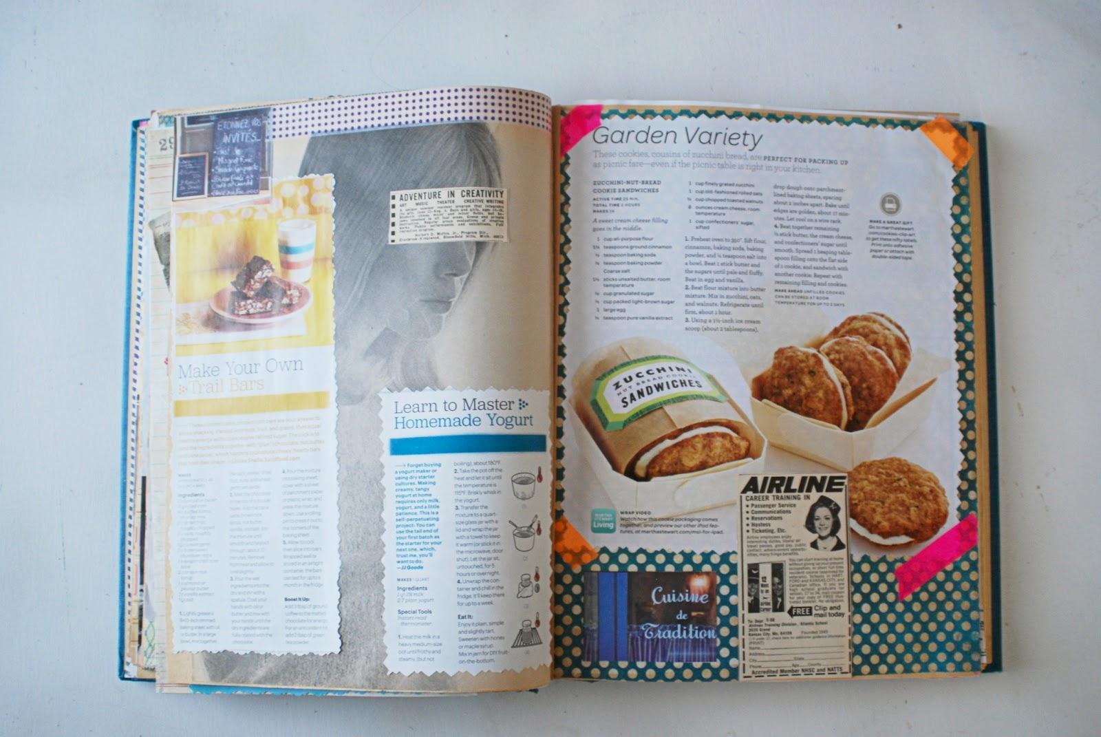 How to scrapbook a recipe book - How To Scrapbook A Recipe Book 84