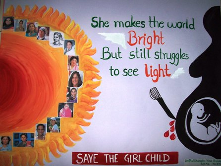 speech on save a girl child