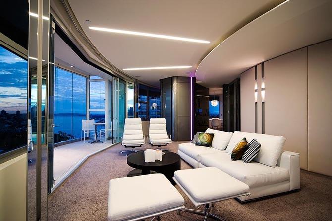 Dise o de interiores arquitectura apartamento con Diseno de interiores de apartamentos modernos