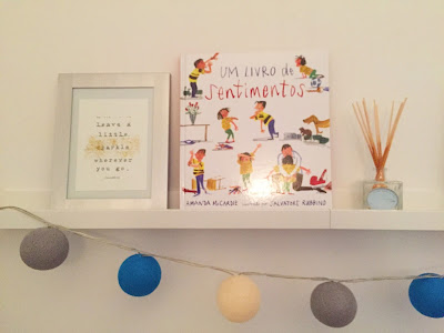 """""""Um livro sobre sentimentos"""", livro infantil, editora Livros Horizonte."""
