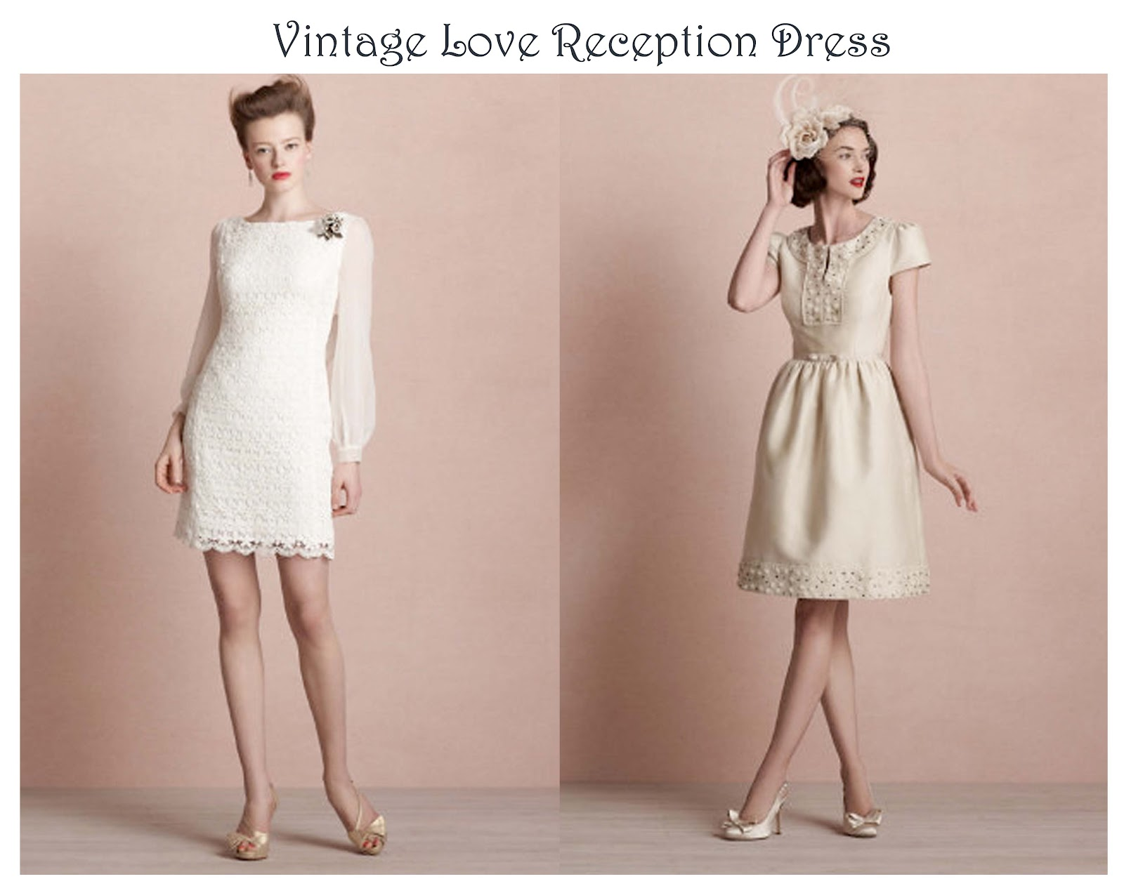 Shy Fashion Beauty: Reception Dress Trend
