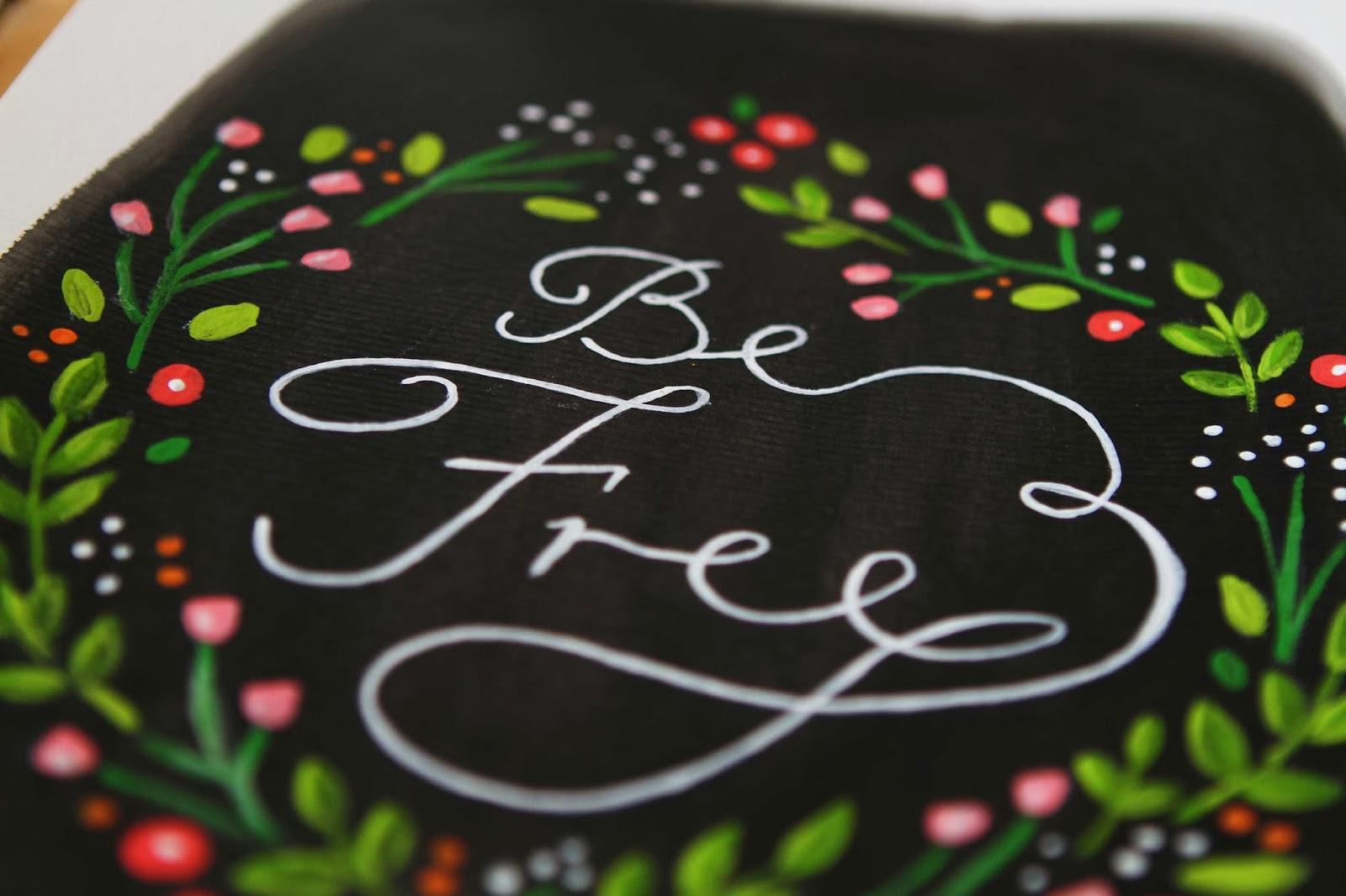 adelaide artist lettering typography flowers wedding art prints