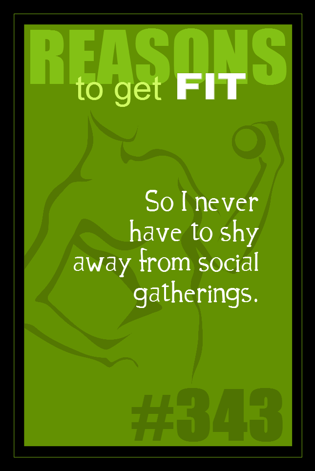 365 Reasons to Get Fit #343